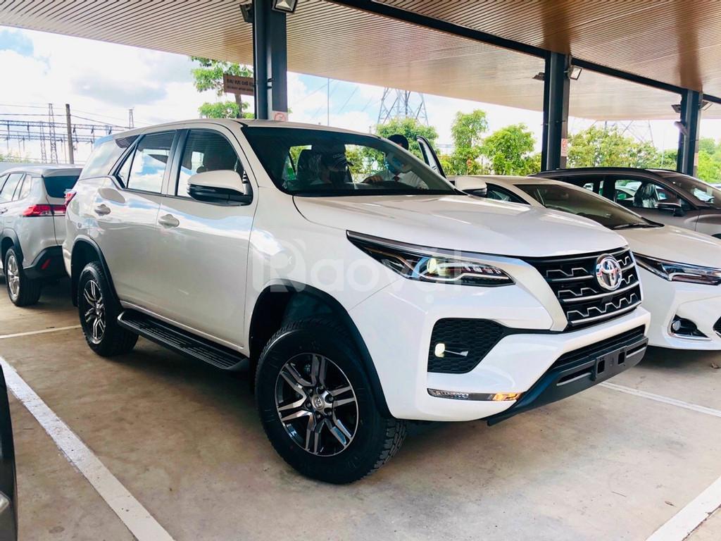 Toyota fortuner 2.4G 2020 giá tốt, ưu đãi trước bạ