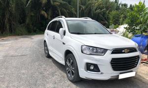Bán lại Chevrolet Captiva 2017 LTZ màu trắng