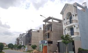 Ngân hàng hỗ trợ thanh lý 30 nền đất khu dân cư Tân Tạo