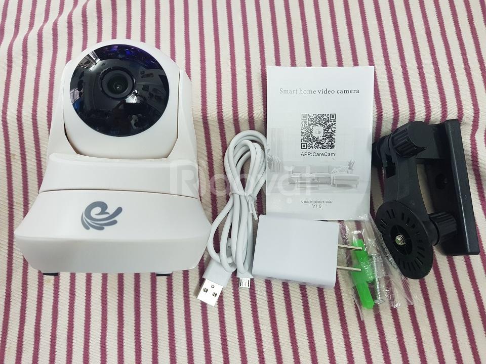Camera ip wifi 2M carecam CC2022, camera giám sát kết nối wifi