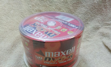 Đĩa DVD trắng Maxell, 1 hộp 50 đĩa