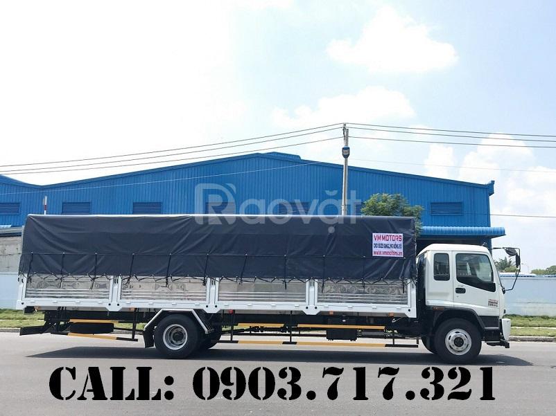 Bán xe tải Isuzu VM 7T35 thùng 9m8 giá khuyến mãi