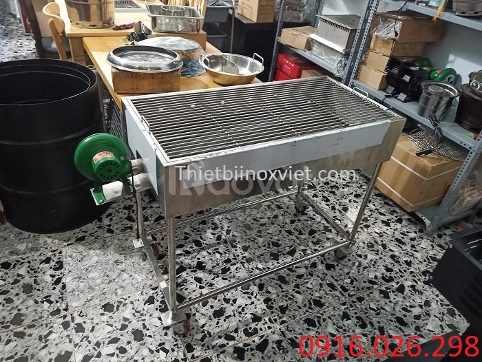 Bếp nướng than hoa không khói ngoài trời giá rẻ