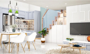 Bán căn hộ Mini 32m2 huyện Hóc Môn sổ hồng riêng