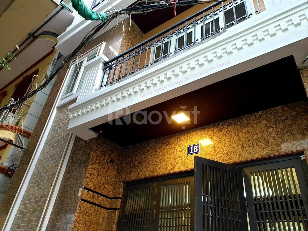 Bán nhà thổ cư 6 tầng, 45m2,18 ngách 15, ngõ 207 Xuân Đỉnh, Hà Nội