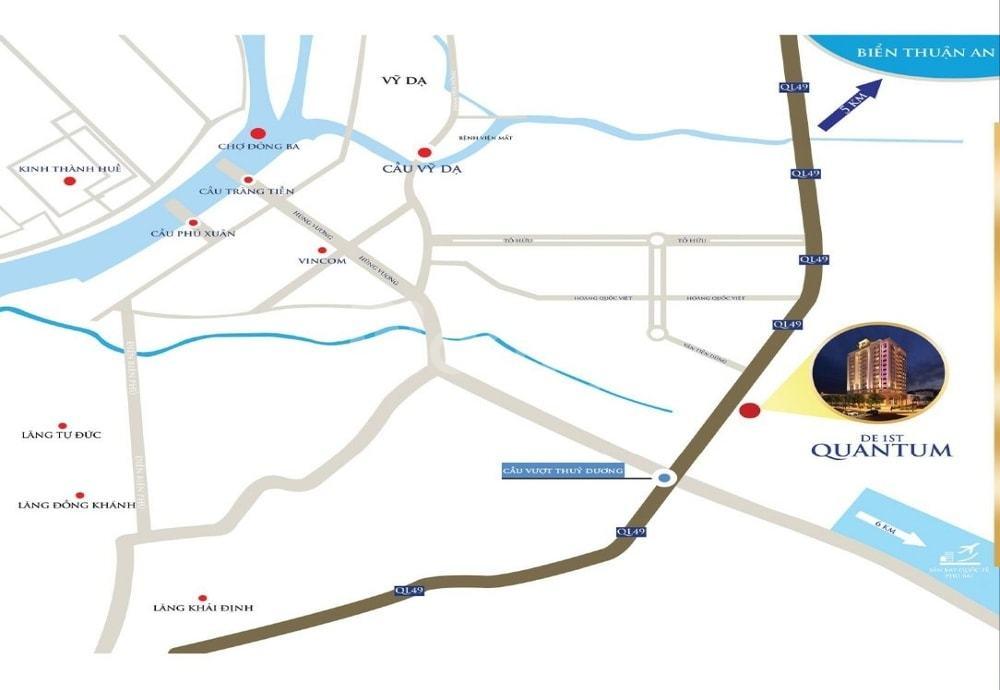 Chung cư cao cấp De 1st Quantum, khu đô thị kiểu mẫu mới tại TP Huế