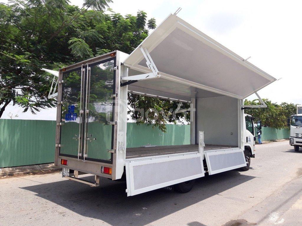 Xe Isuzu 5 tấn, thùng dài 6.2 mét, giao ngay
