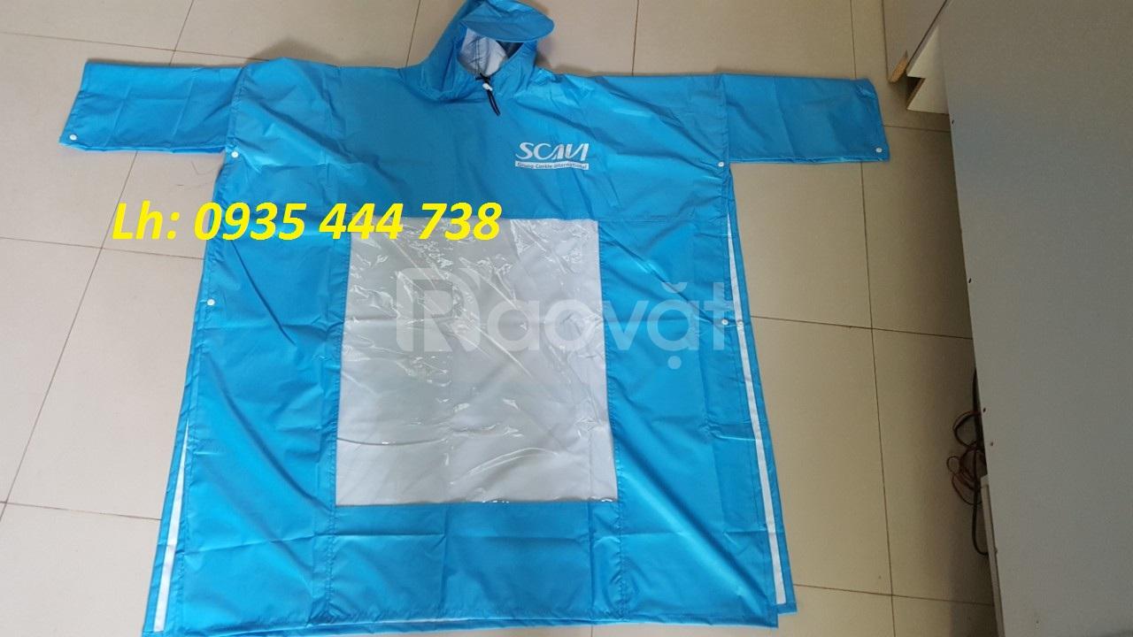 Cung cấp áo mưa bít, cánh dơi in logo thương hiệu tại Đà Nẵng