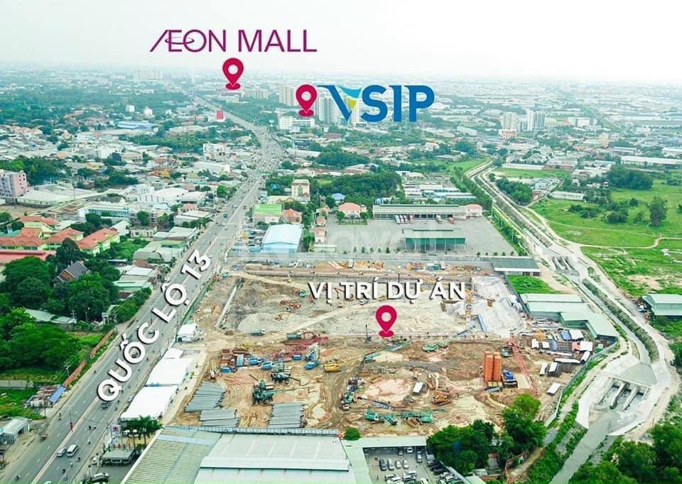 Astral City, căn hộ 2PN diện tích 60m2, TP Thuận An