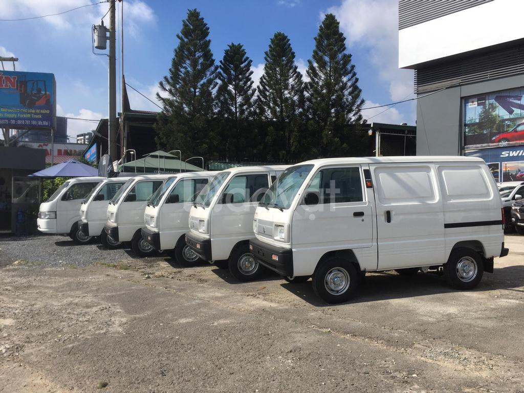 Xe tải van Suzuki ưu đãi tháng 11