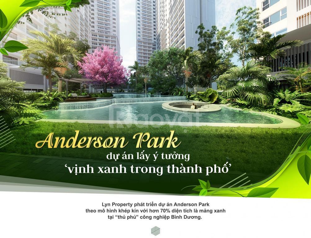 Event 15/11, căn hộ Anderson Park chiết khấu lên đến 21%