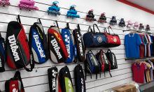 Cung cấp các loại tủ kệ trưng bày sản phẩm cho shop đồ thể thao
