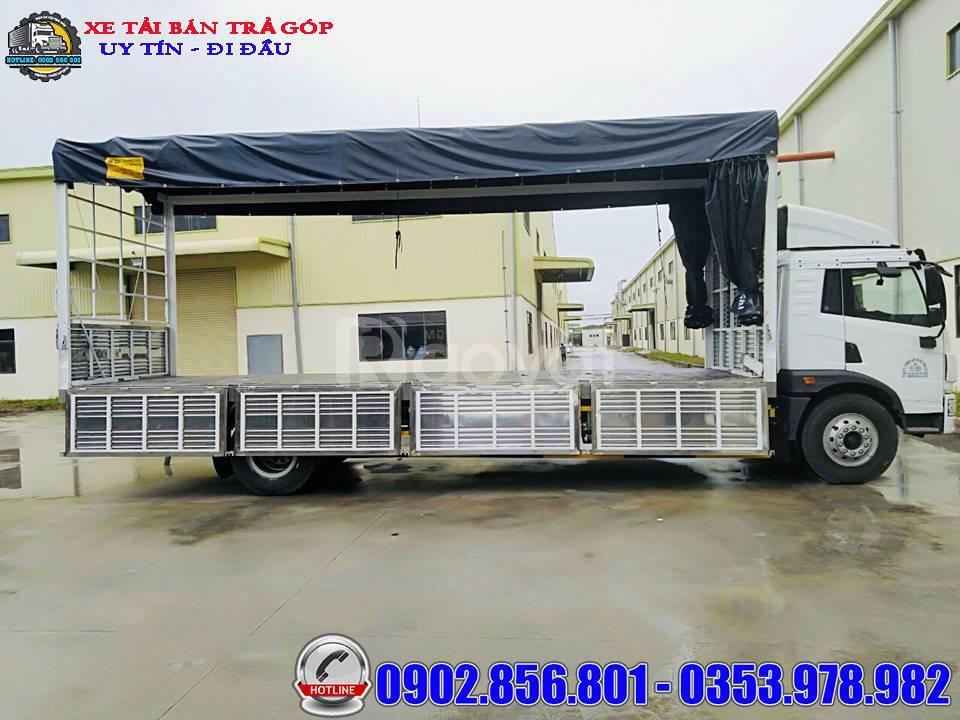 Xe tải thùng dài chở pallet, xe tải 9 tấn, thùng 8.2mét