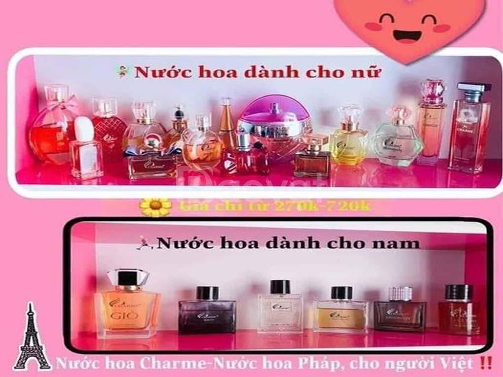 Nước hoa Charme Pháp dành cho người Việt