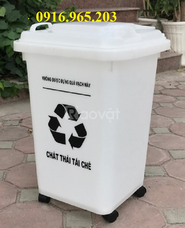 thùng rác 60l,thùng rác y tế 60l,thùng rác nhựa 60l