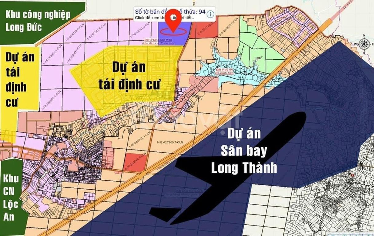 Đất nền sân bay Long Thành, cam kết lợi nhuận 20%