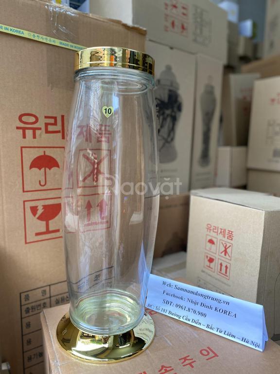 Bình thủy tinh Hàn Quốc cao cấp