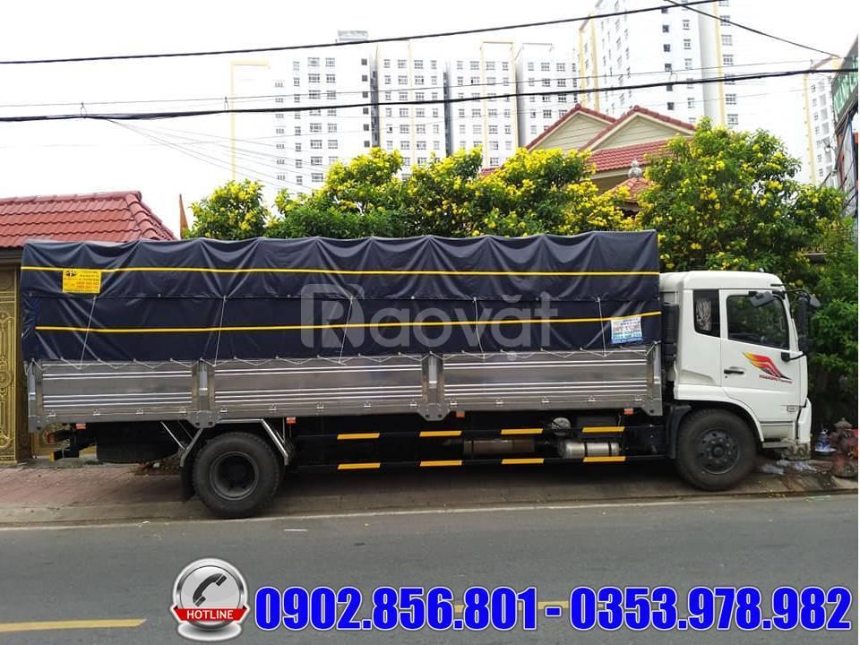 Xe tải Dongfeng 9 Tấn B180 thùng dài chở pallet và bao bì giấy