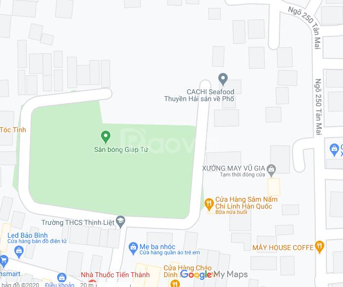 Cho thuê nhà đối diện trường THCS Thịnh Liệt, kinh doanh được