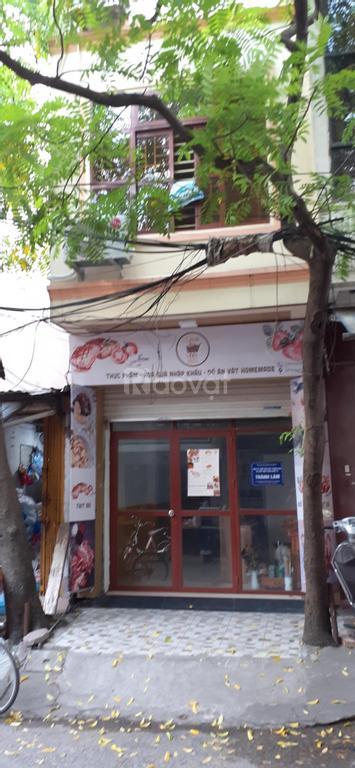 Cho thuê nhà mặt ngõ 165 Thái Hà, 22m2
