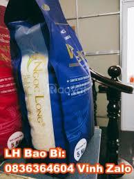 Bao đựng gạo 5, 10, 15, 20kg thiết kế miễn phí