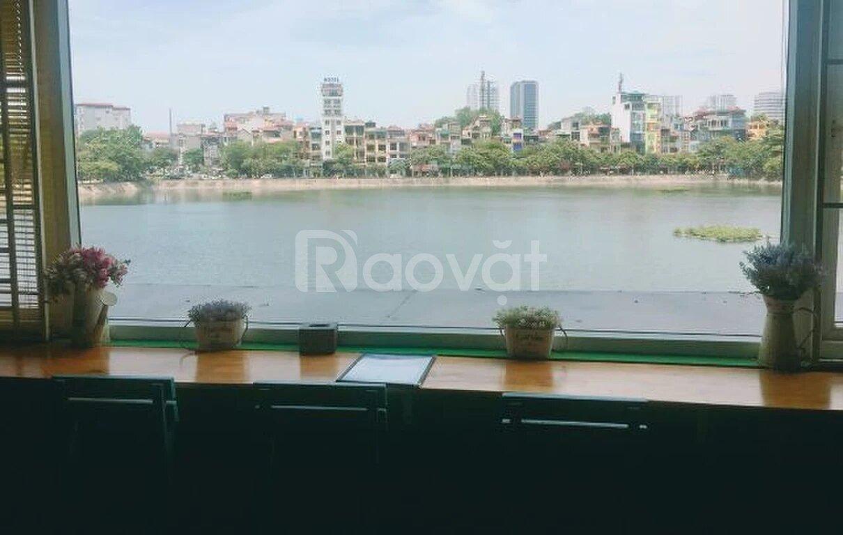 Bán chung cư T5 B1 view hồ Nam Đồng,  phố Trần Hữu Tước ra Hồ Đắc Di