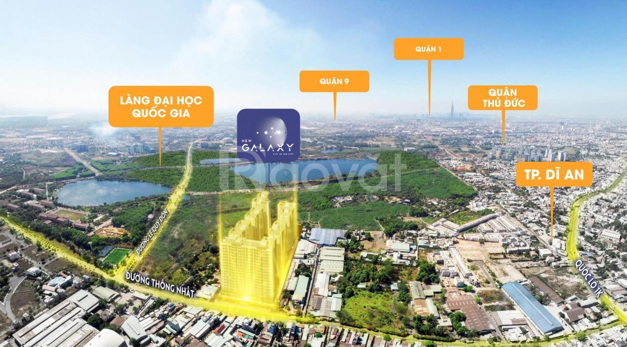 Hai suất nội bộ 3PN 84m2 dự án New Galaxy Hưng Thịnh ngay làng đại học
