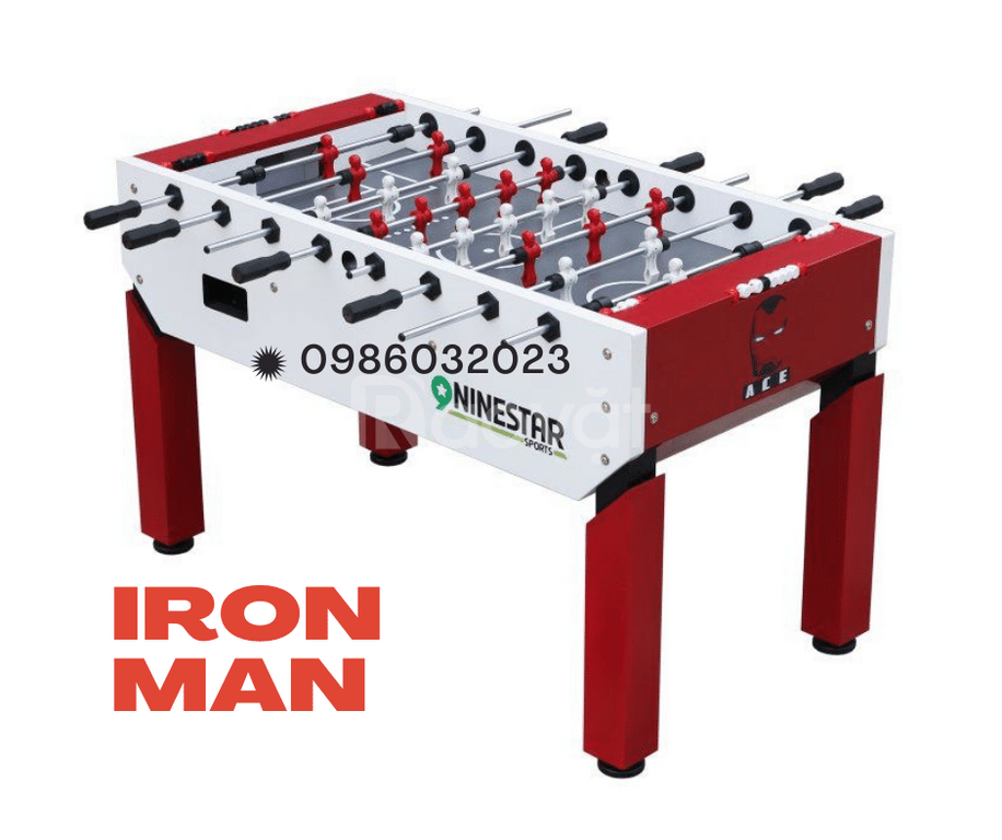 Bàn bi lắc Iron Man Ace Red 2020