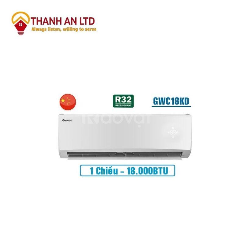 Máy lạnh Gree GWC18KD-K6N0C4, 2.0 HP, Gas R32, điện máy Thành An