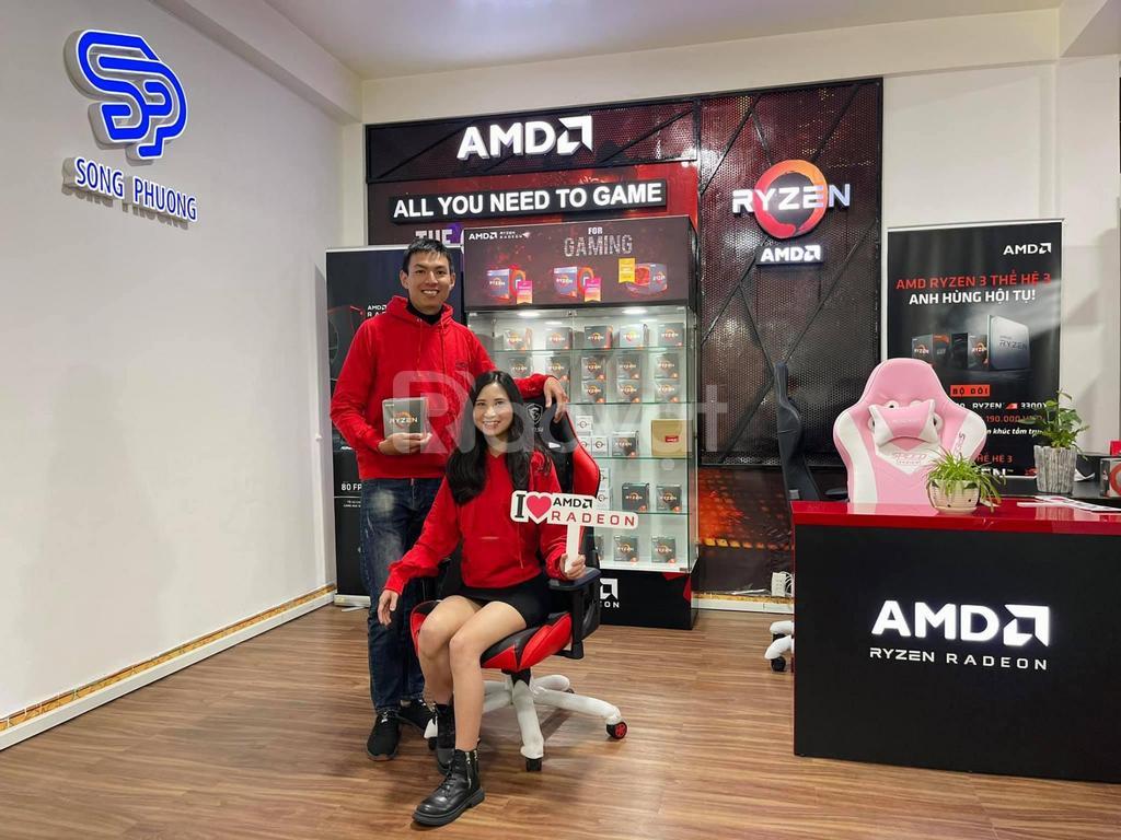 Mua PC AMD Ryzen 5, 7, 9 tại Song Phương, nhận áo hoodie AMD