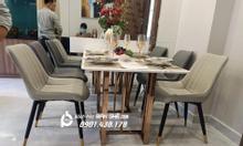Ghế da phòng ăn cho căn hộ, nhà phố giá rẻ tại HCM