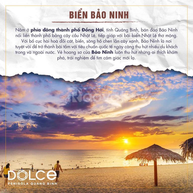 Căn hộ 6 sao Dolce Penisola view biển Bảo Ninh, hỗ trợ vay 50%