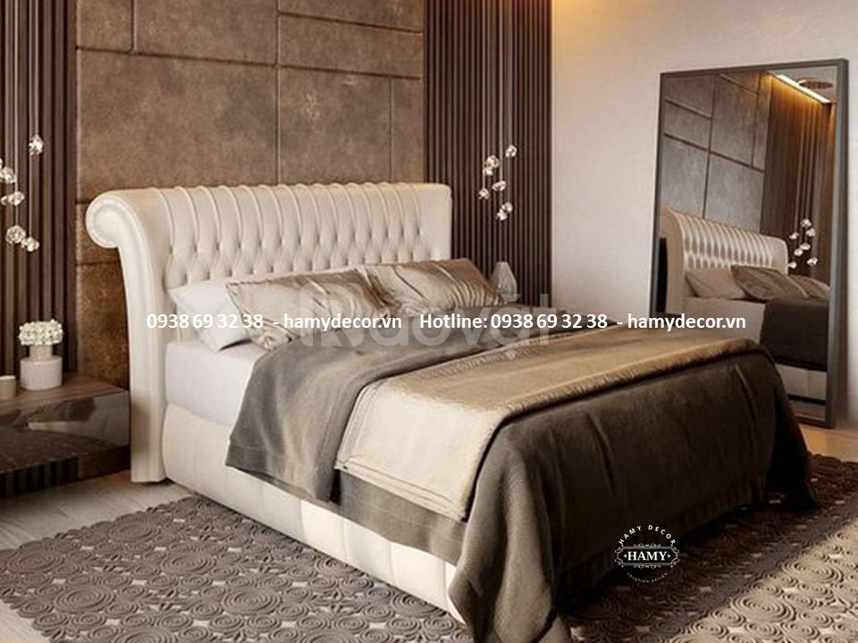 Nơi bán giường ngủ bọc nệm hiện đại giá rẻ tại TP.HCM