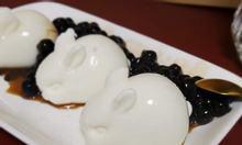 Flan caramen, sữa chua nếp cẩm Đức Minh