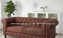Nhận đóng ghế Sofa tân cổ điển theo kích thước giá rẻ tại Gò Vấp