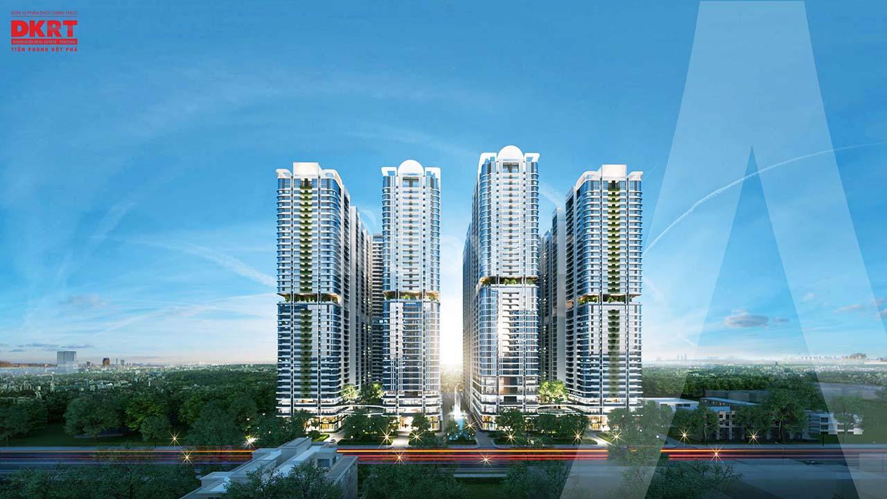 Công bố tháp Rigel - dự án Astral City