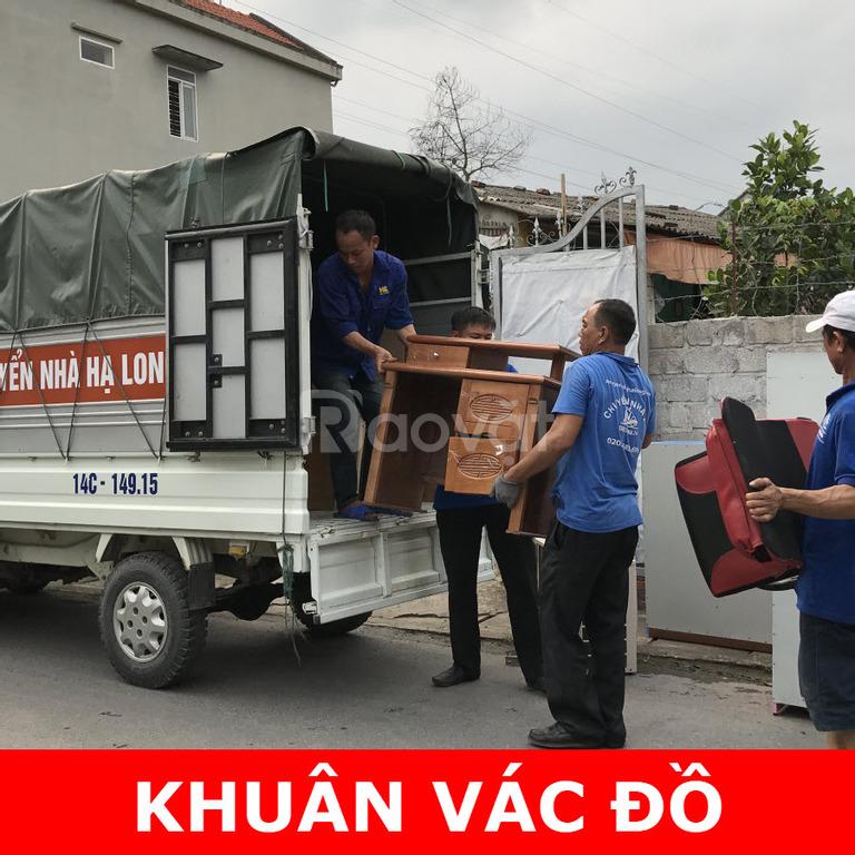 Dịch vụ chuyển nhà 24h Hạ Long chuyển đồ đạc gia đình giá rẻ uy tín