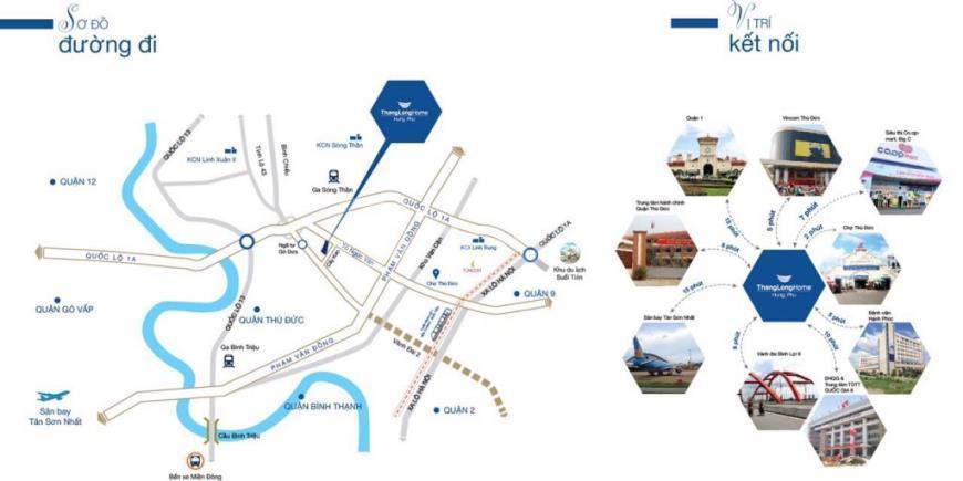 Cho thuê nhà tại Thăng Long Home, quận Thủ Đức