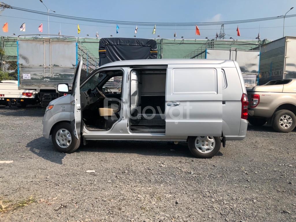 Xe tải van KenBo 2 chổ 945kg vô được thành phố giờ cấm