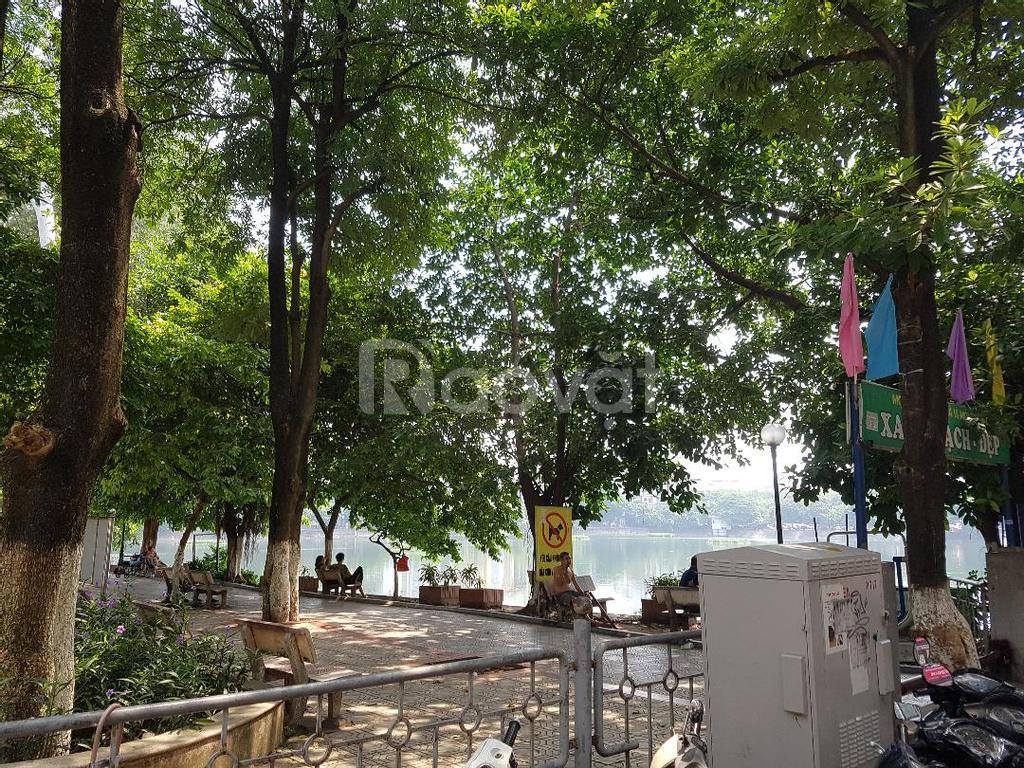 Bán chung cư view hồ Nam Đồng, phố Hồ Đắc Di tầng 5, B1