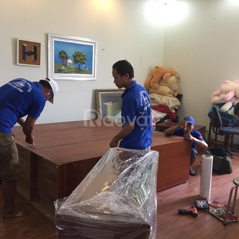 Dịch vụ chuyển nhà trọn gói của Chuyển nhà 24h Hạ Long