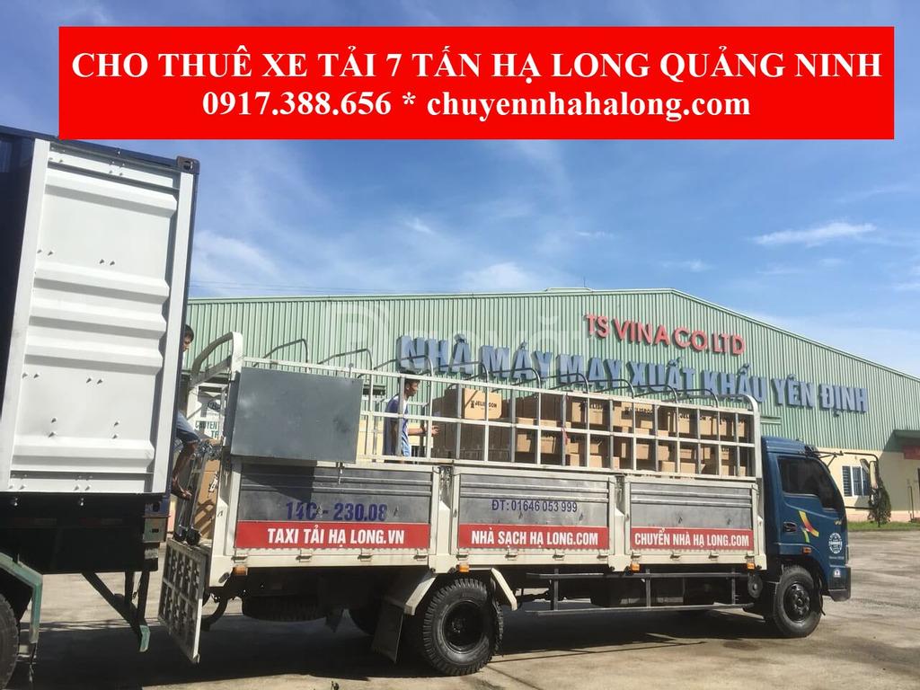 Xe tải chở hàng tại Hạ Long, thuê xe tải có lái chở hàng và chuyển nhà
