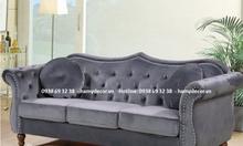 Cửa hàng bán ghế sofa tân cổ điển 3 chỗ ngồi giá rẻ cho căn hộ tại SG