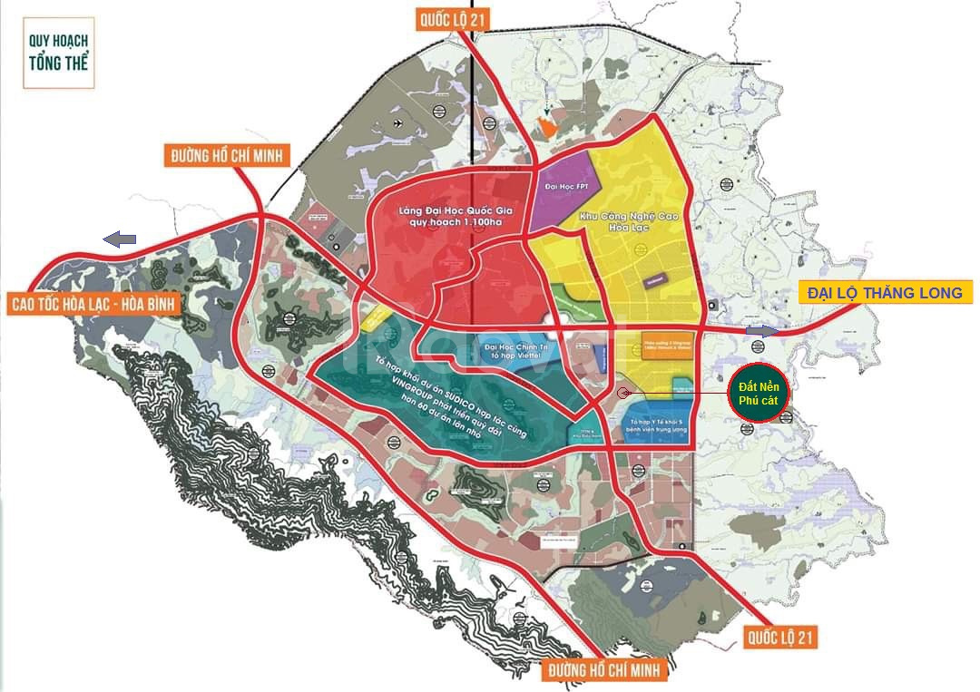 Đất TĐC Vai Réo, giáp Khu CNC & TTTM, DT 165m2