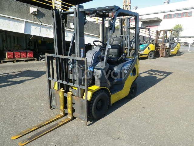 Bán xe nâng Komatsu 1.5 tấn, FD15T-21, sx 2015 Nhật