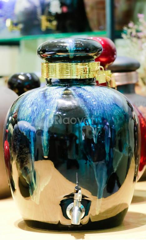 Bình gốm sứ đẹp quà biếu Tết ý nghĩa trang trọng