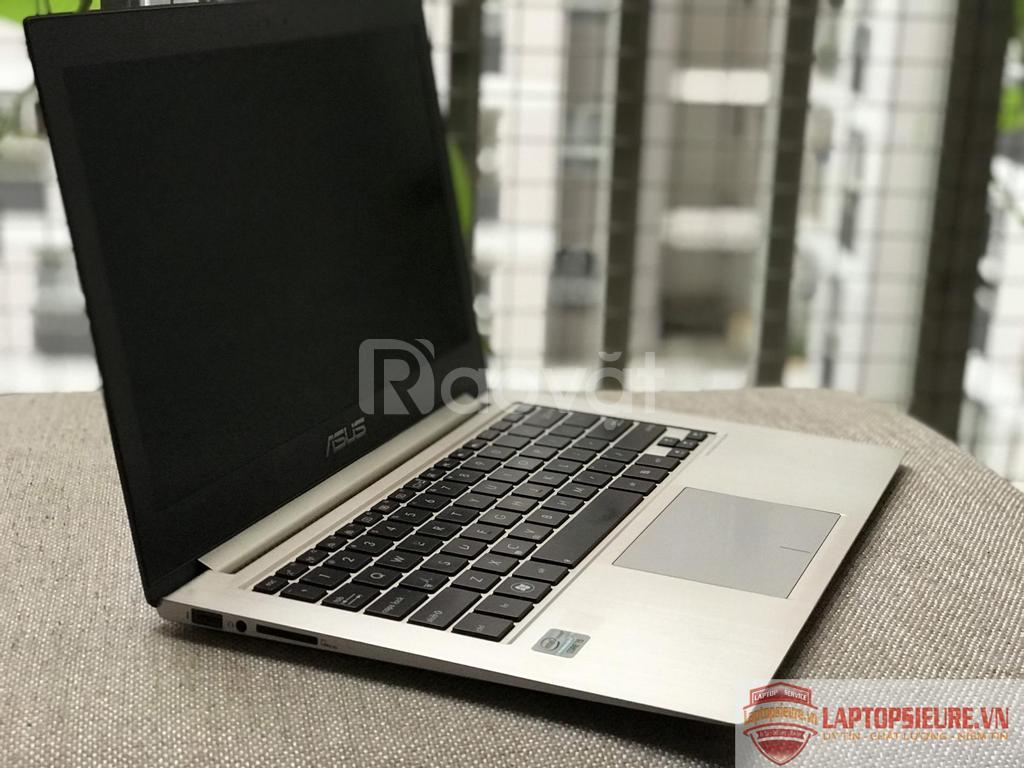 Asus Zenbook UX31A i5-3317u 4G SSD 256GB nhôm nguyên khối