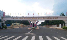 Đất nền trung tâm hành chính huyện Đồng Phú, mặt tiền đường 23m