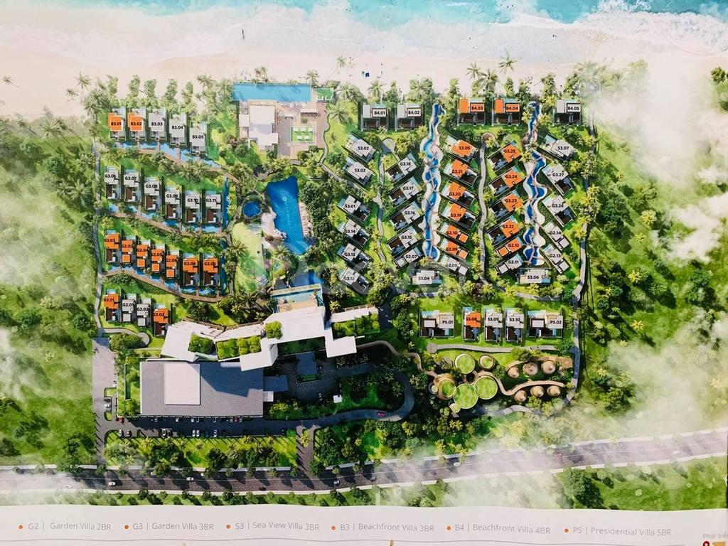 Biệt thự biển Hyatt Regency Hồ Tràm Residences mở bán 25/63 căn thui