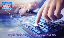 Trung cấp tin học xét tuyển hệ chính quy học ngoài giờ hành chính